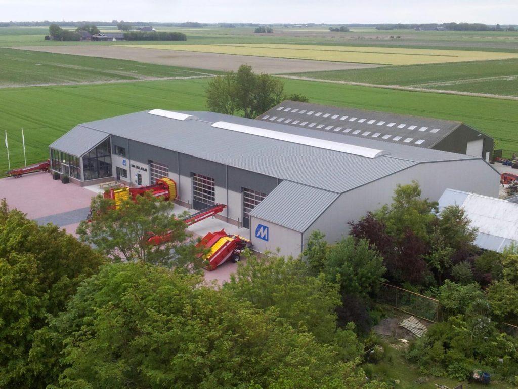 Van der Maar Landbouwmechanisatie Hornhuizen bedrijfspand werkplaats showroom 20160312 2209